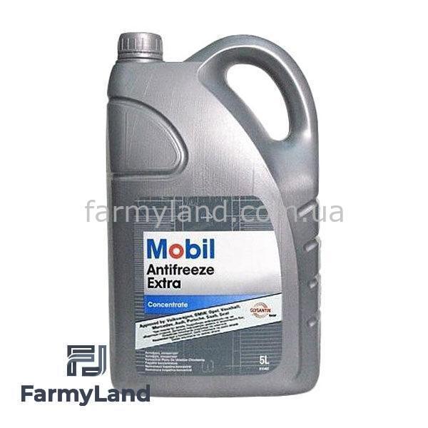 Антифриз Mobil Antifreeze синий концентрат (5л) - Фото №7