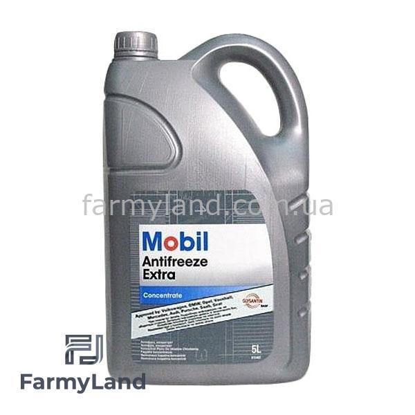 Антифриз Mobil Antifreeze синий концентрат (5л) - Фото №1