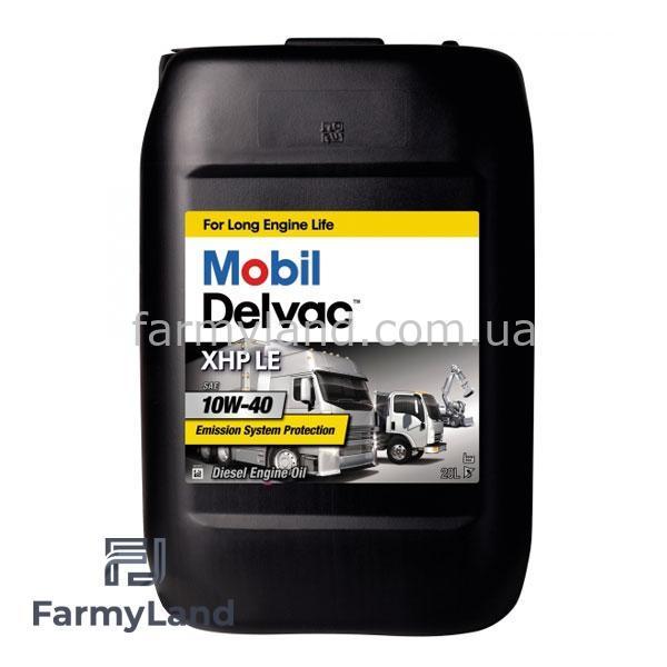 Масло моторное Mobil Delvac XHP LE 10W-40, 20L - Фото №1