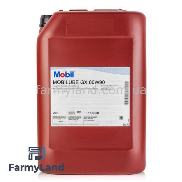 Масло трансмиссионное Mobil Mobilube GX 80W-90 (20л) - Фото №10