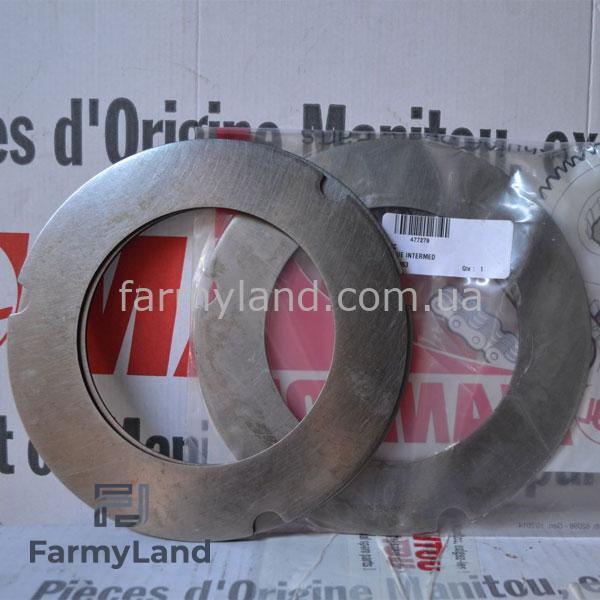 Тормозные диски стальные 477279 - Фото №1